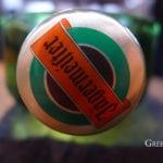 Bandejitas de la botella de Jagermeister