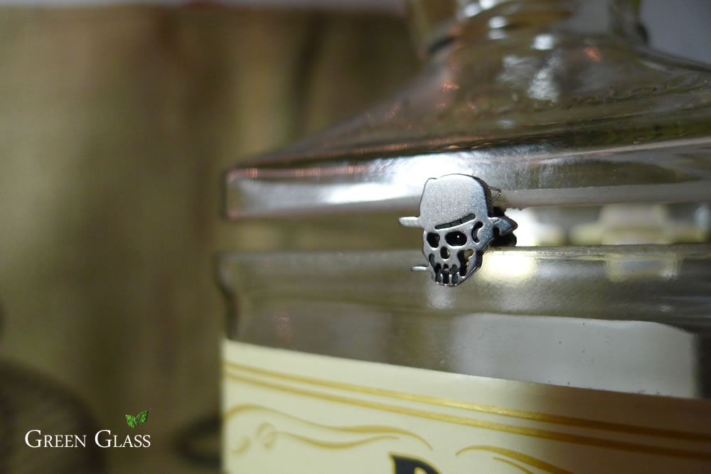 Calavera cofre Jack Daniels Honey