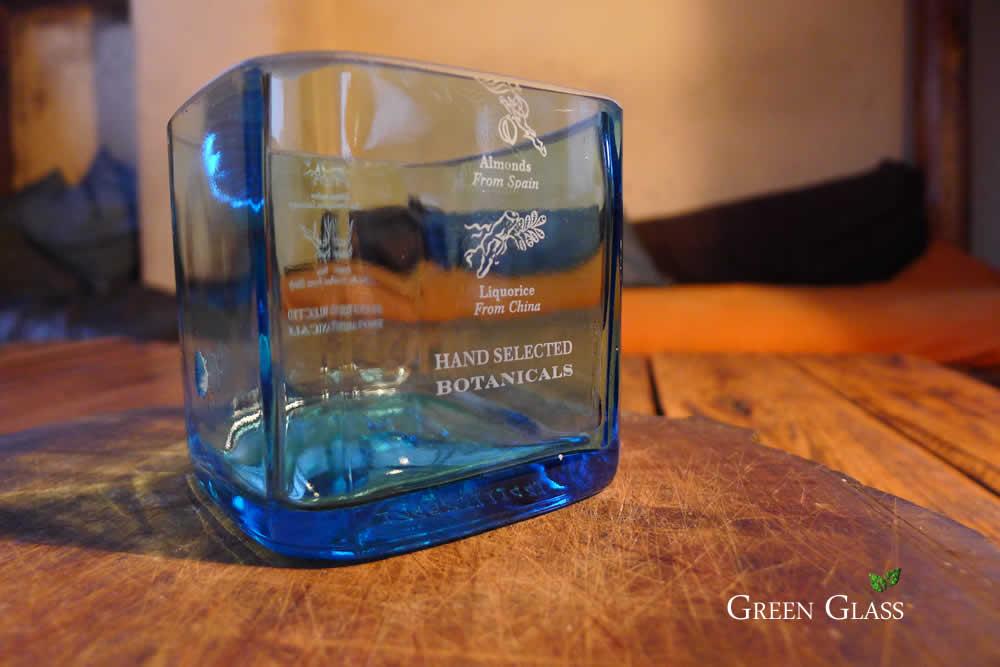 Vaso de Bombay Sapphire