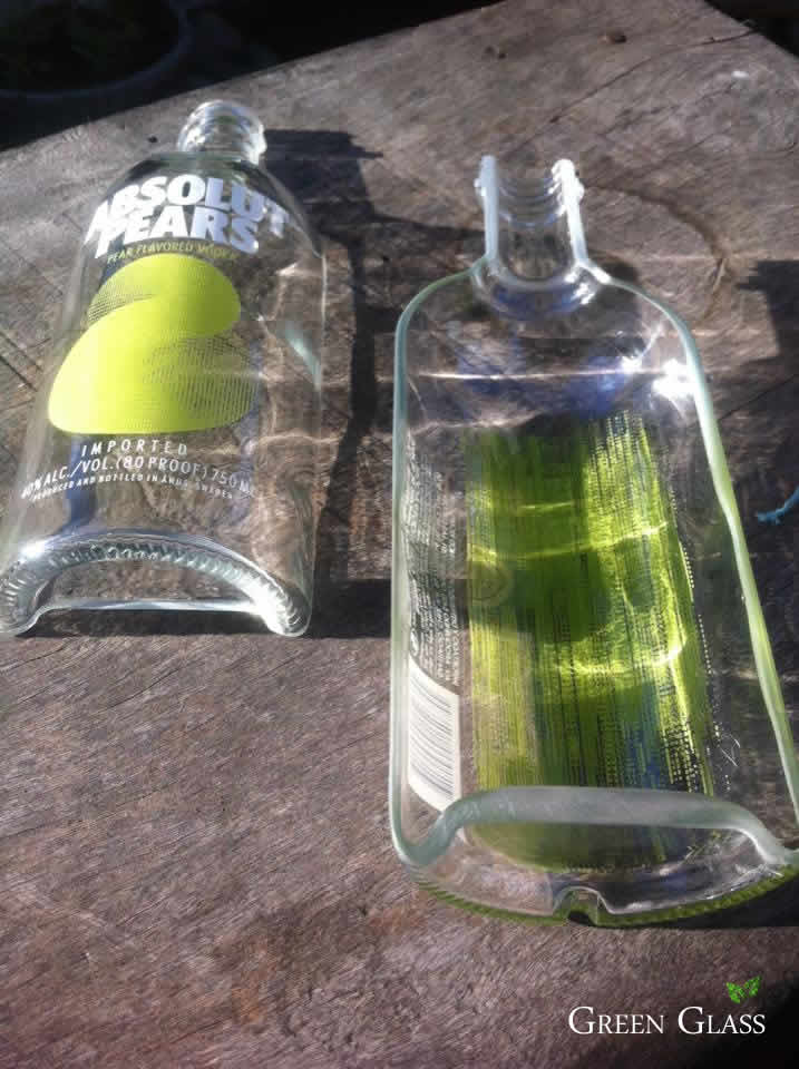 Cortar botellas vidrio