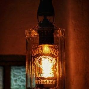 Lampara de la botella Jack Daniels