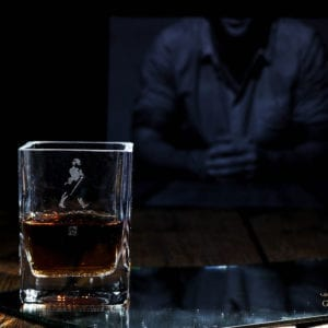 Vaso de whisky Johnnie Walker Gold Label