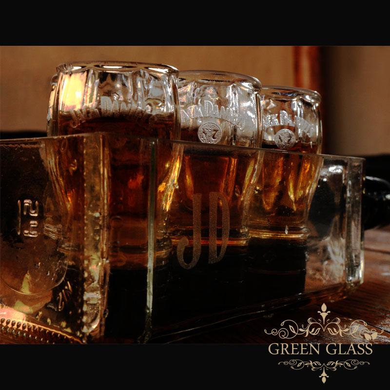 Bandeja de shots Jack Daniels