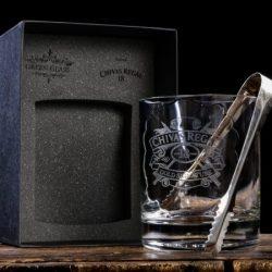 Hielera de la botella whisky Chivas 18 años
