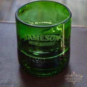 Vaso de whisky reciclado Jameson