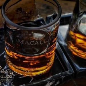 Vaso de whisky Macallan artesanal